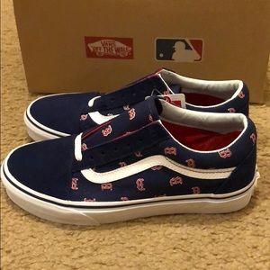 33701e6ee767 Vans Shoes - MLB Old Skool Vans Boston Red Sox